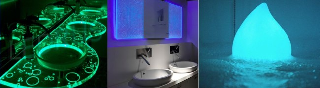 Варианты приборов для подсветки в ванной