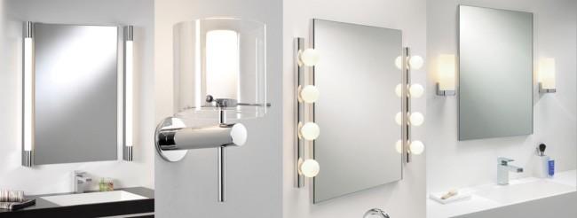 Бра для подсветки зеркал в ванной