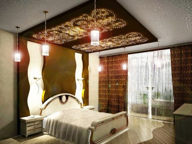 Токопроводящие панели в спальне