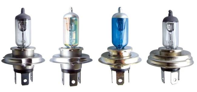 Внешний вид галогенных ламп