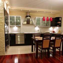 Освещение различных зон кухни