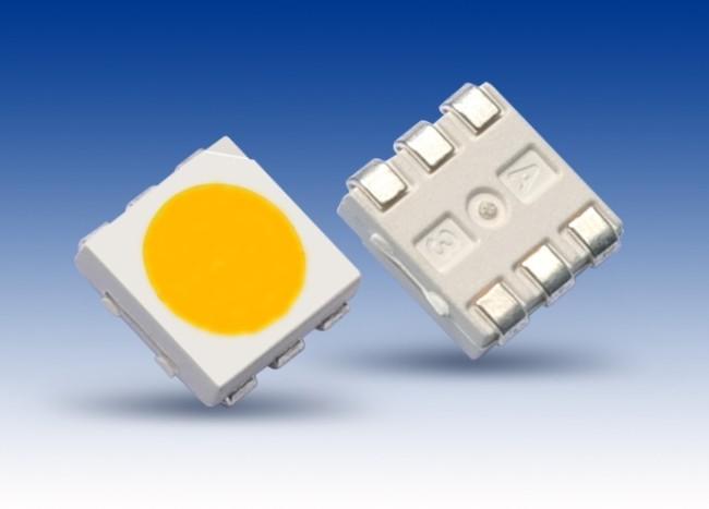 Внешний вид чипа SMD 5050