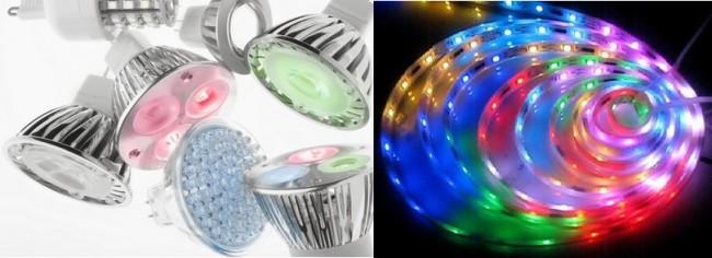 Разнообразие светодиодных технологий