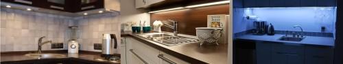 Эффективная подсветка рабочей зоны кухни