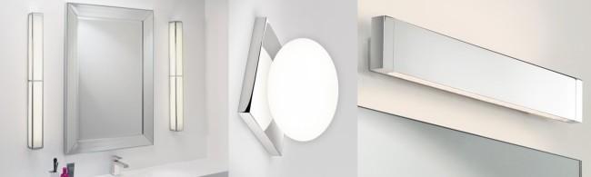Разновидности светильников для зеркала