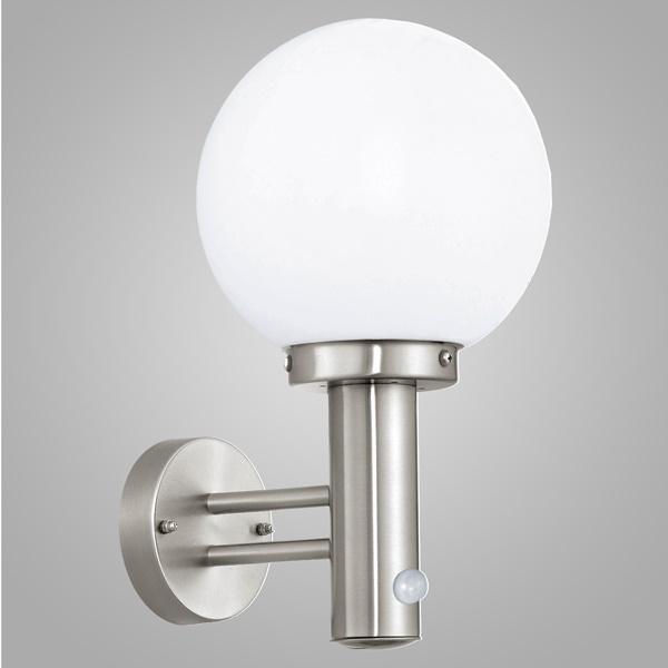 Настенный светильник с датчиком движения eglo