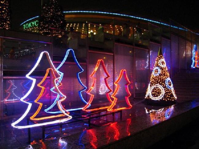 Уличные светильники светодиодные в интерьере