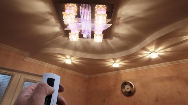Радиоуправление светодиодной подсветкой