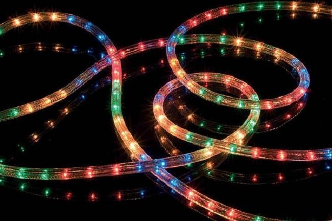 Внешний вид светодиодного шнура