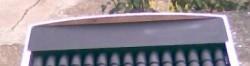 Закругленный торец короба коллектора