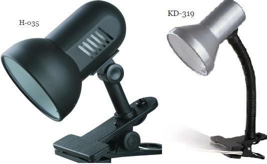 Настольные лампы H-035 и KD-319 от компании Сamelion