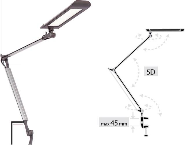 Настольная лампа ALT-401SC от компании Pulsar