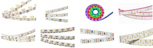 Разнообразие светодиодной продукции