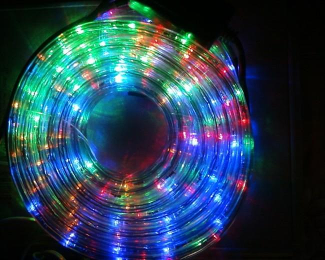 Свечение светодиодной ленты