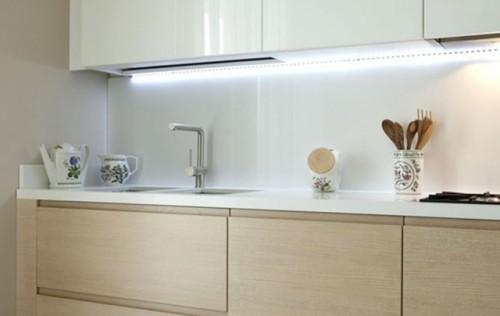 Освещение рабочей области кухни
