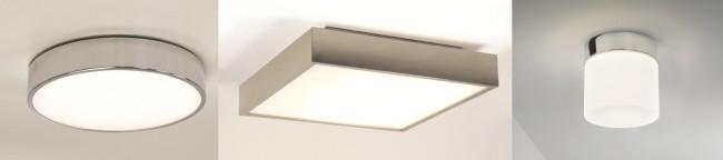 Примеры светильников с хромированными вставками