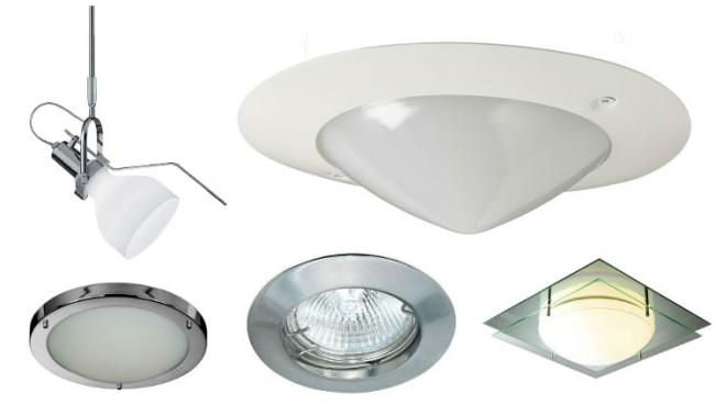 Разнообразие точечных светильников