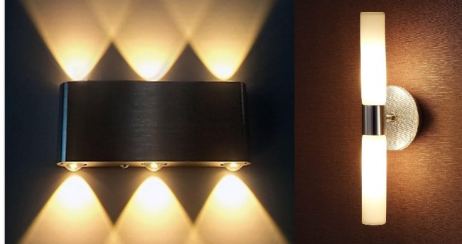 Модели с симметричными рядами ламп