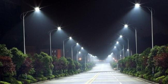 Освещение дорожного покрытия