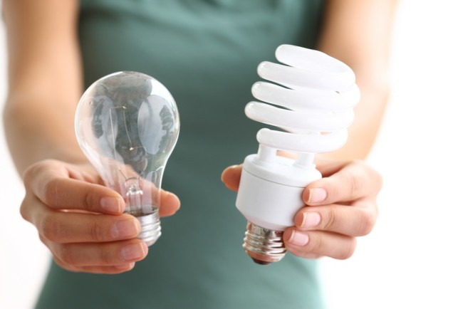Внешний вид энергосберегающих ламп