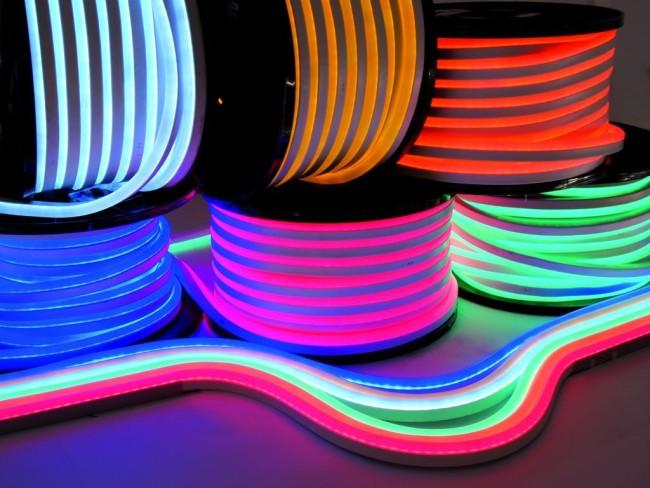 Гибкая разновидность неоновых ламп
