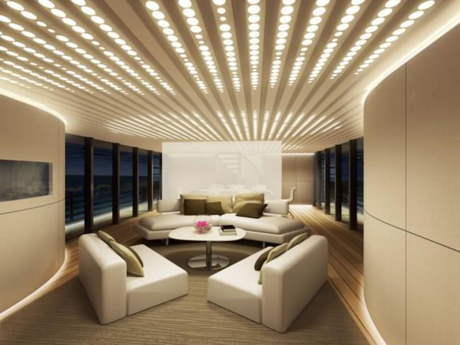 Пример правильного искусственного освещения помещения