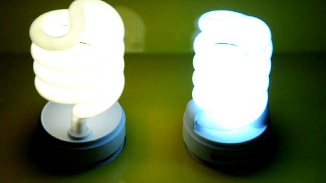 Внешний вид энергосберегающей лампы