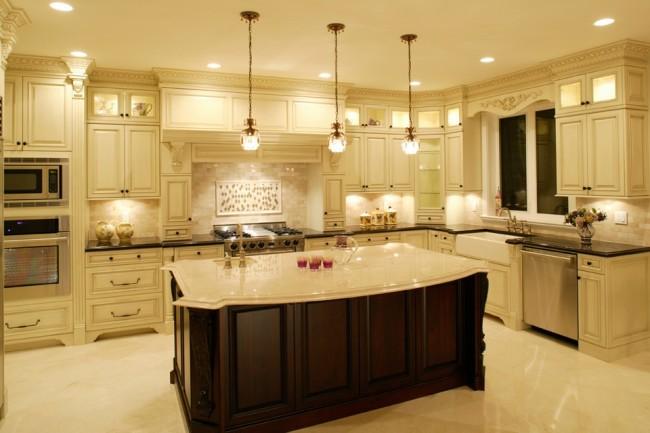 Размещения подсветки на кухне