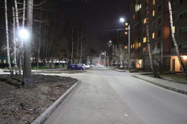 Уличная подсветка дома