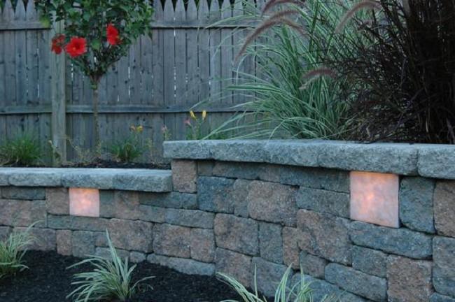 Подсветка садовой територии