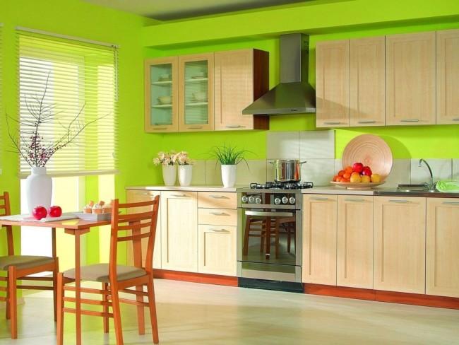 Пример мебели на кухне
