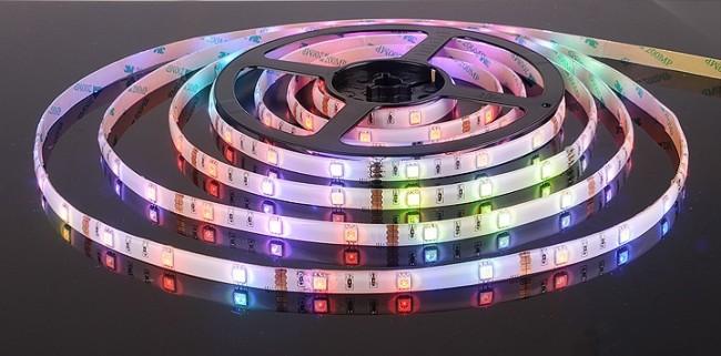 Внешний вид светодиодной ленты