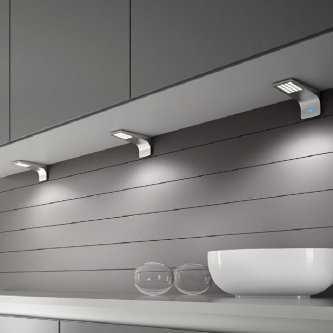 Пример накладных мебельных светильников