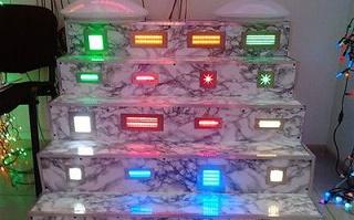 Внешний вид встраиваемых светильников