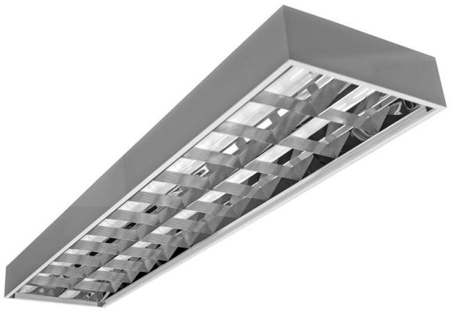 Пример внешнего вида люминесцентного светильника
