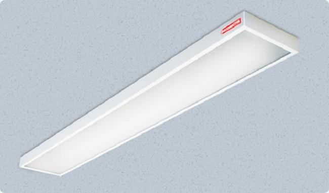 Внешний вид стационарного люминесцентного светильника