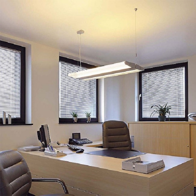 Применение люминесцентных светильников в офисах