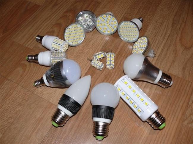 Внешний вид светодиодных ламп