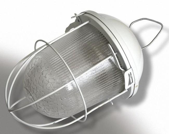 Внешний вид светильника под лампу РСП