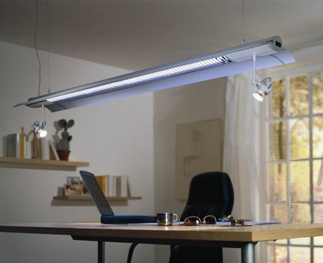 Внешний вид мобильного люминесцентного светильника
