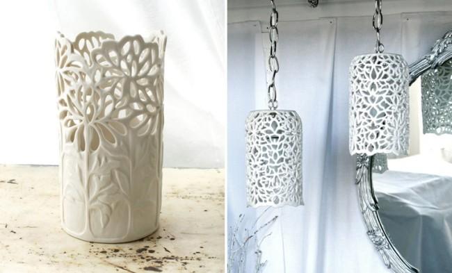 Внешний вид дизайнерского светильника