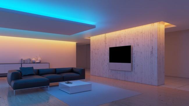 Светодиодная подсветка комнаты