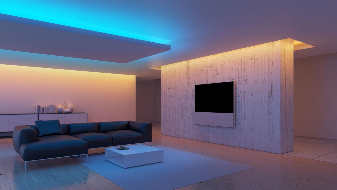 Светодиодное освещение в интерьере фото