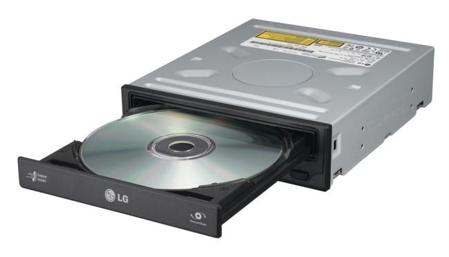 Внешний вид DVD-RW привода