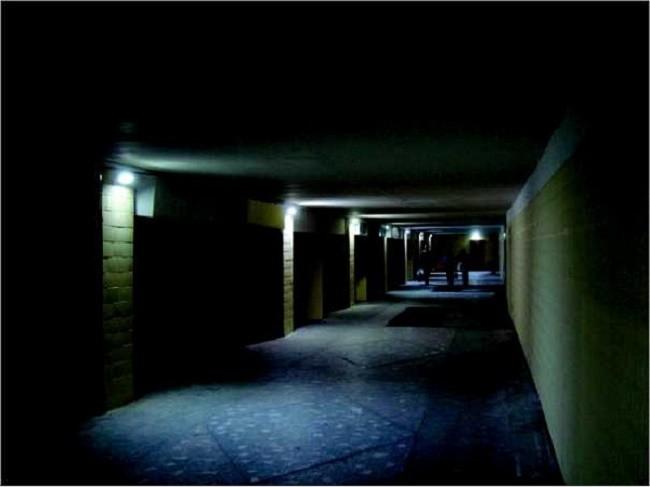 Аварийное освещение коридора