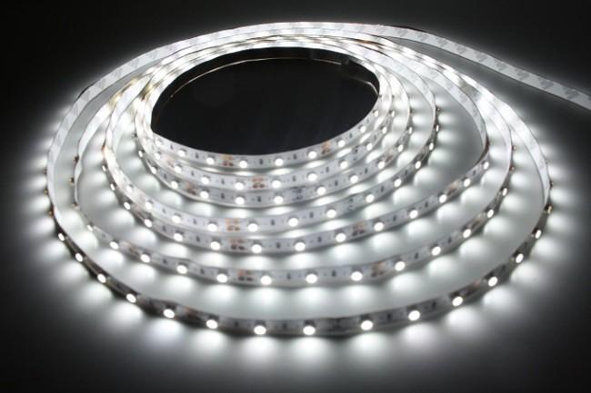 Внешний вид свечения светодиодной ленты
