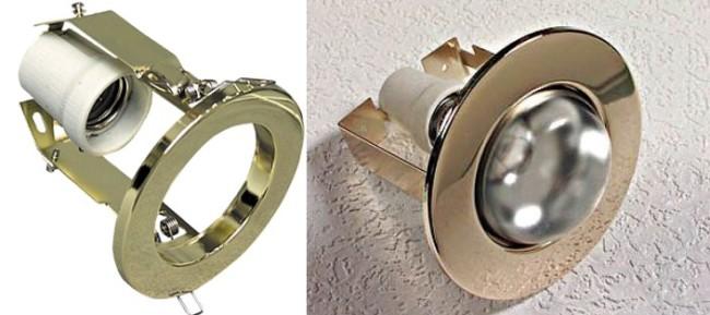 Внешний вид патрона для лампы