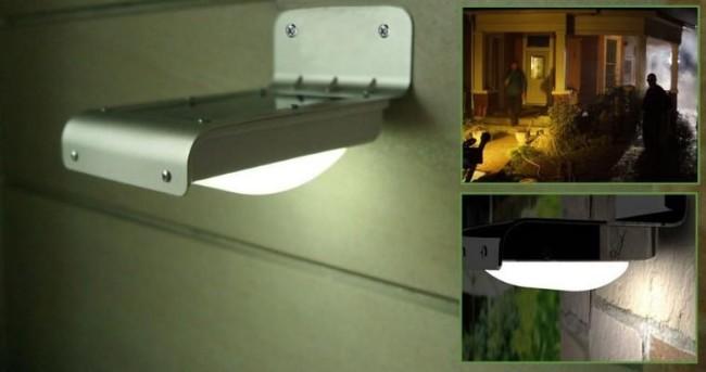 Автономная подсветка на даче
