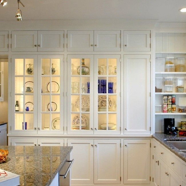 Подсветка шкафчиков на кухне