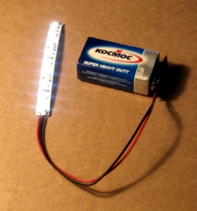 Питание одной батарейкой своими руками 705